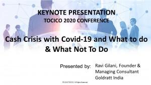 TOCICO_Cash Crisis with COVID-19 (2020)